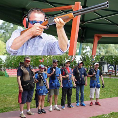 Clay Pigeon Shooting in Belgrade